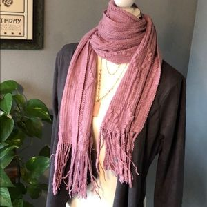 Accessories - New! Soft Textured Lilac Oversized Scarf/Wrap